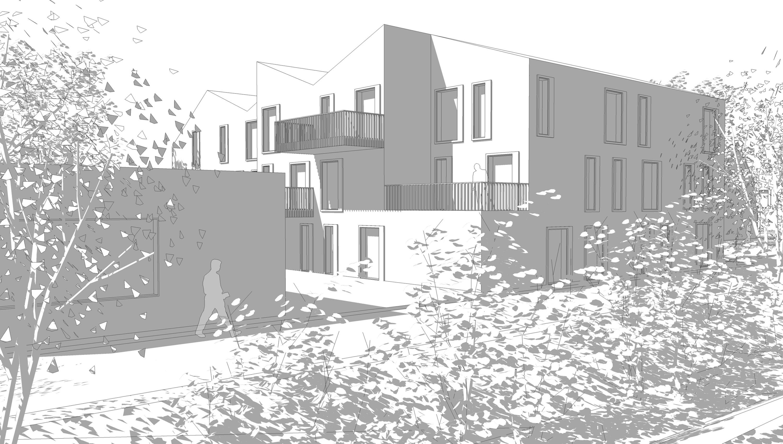 wohnhaus langenfeld richrath kastner pichler architekten. Black Bedroom Furniture Sets. Home Design Ideas